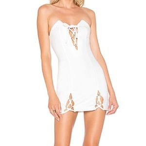 Dresses - h:ours Haider Mini Dress White
